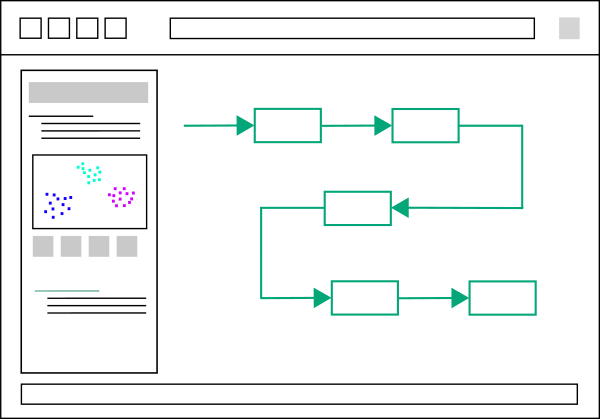 AI and Data Pipelines Icon